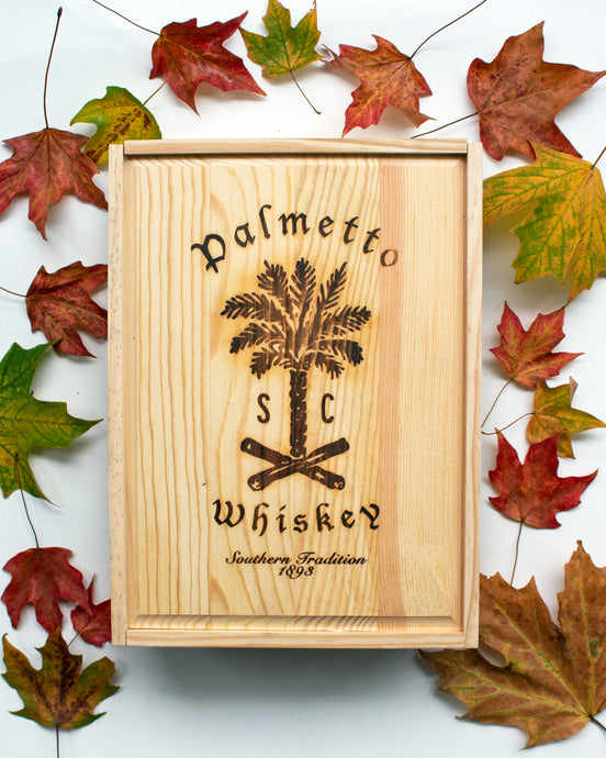 PERSONALIZED WHISKEY BOX GIFT SET