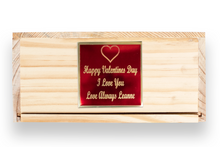Load image into Gallery viewer, PERSONALIZED WHISKEY BOX GIFT SET
