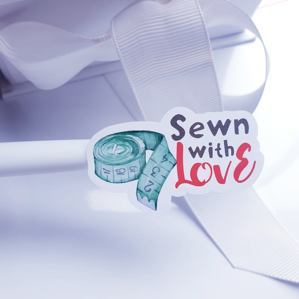 Sewn with love Stickers