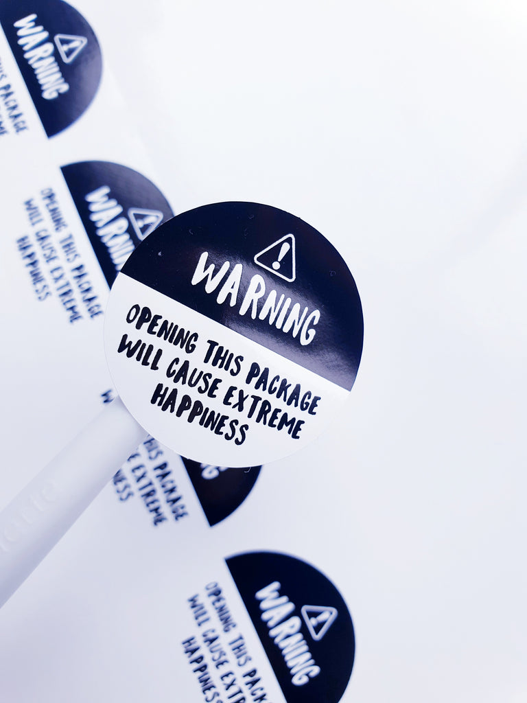Extreme Happiness Stickers