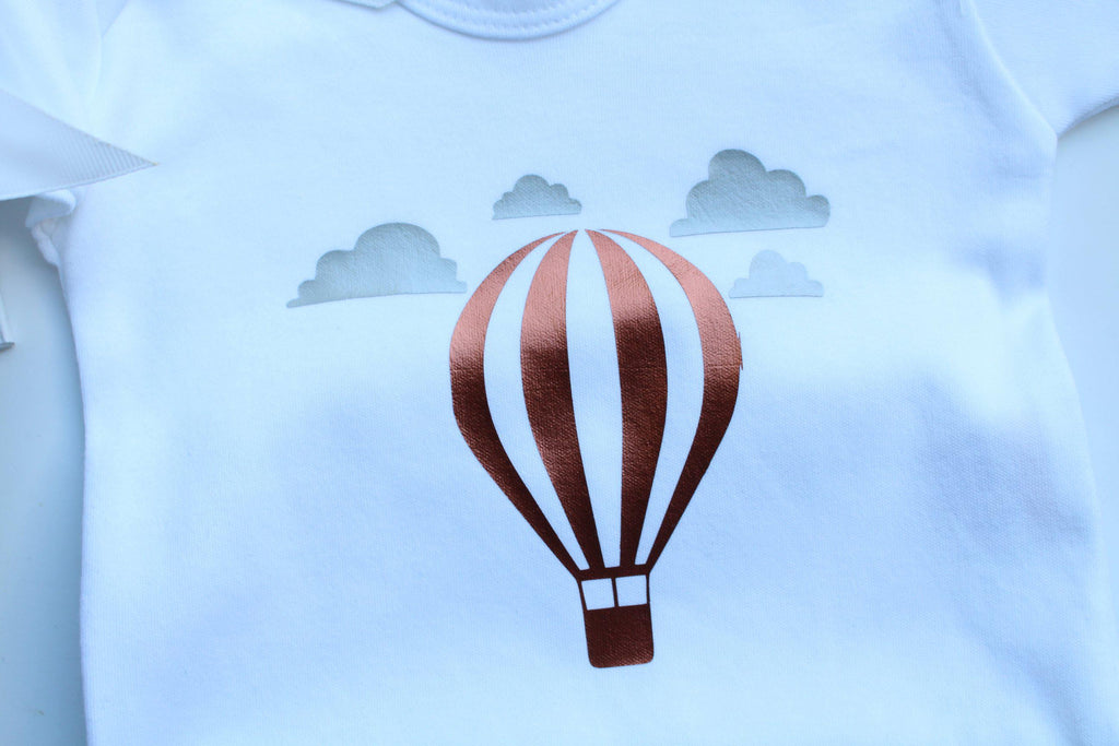 Hot Air balloon T-shirt - colour-me-balloon-decor-gifts