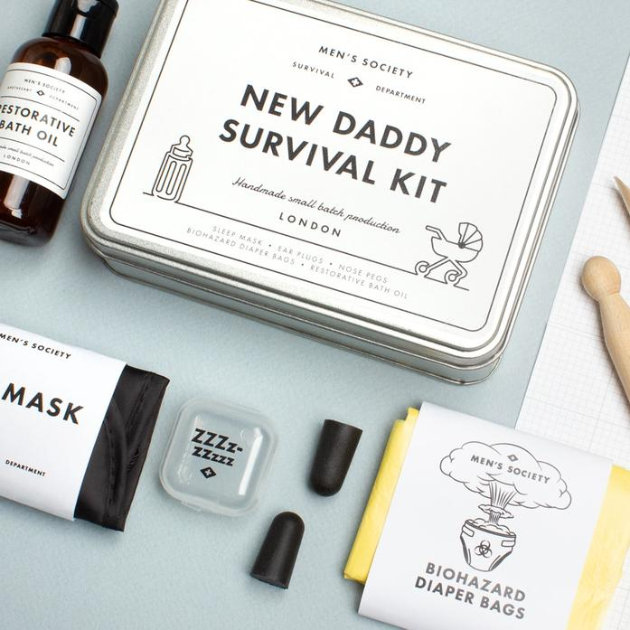 New Dad Survival Kit - colour-me-balloon-decor-gifts