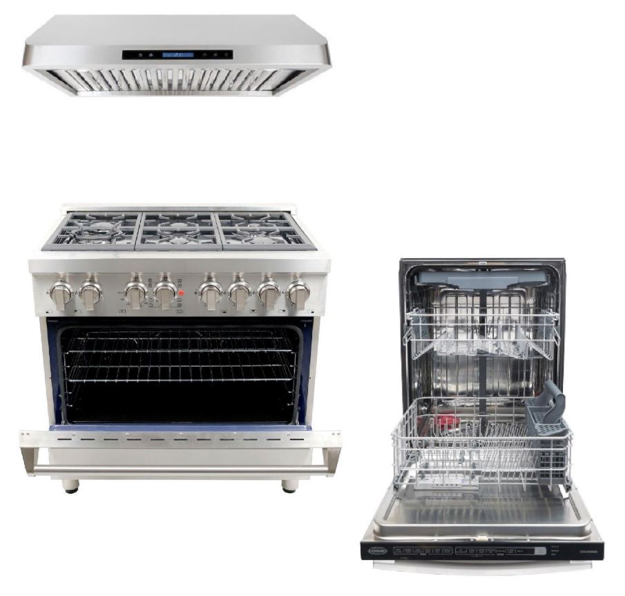 Cosmo Kitchen Appliance Package 36