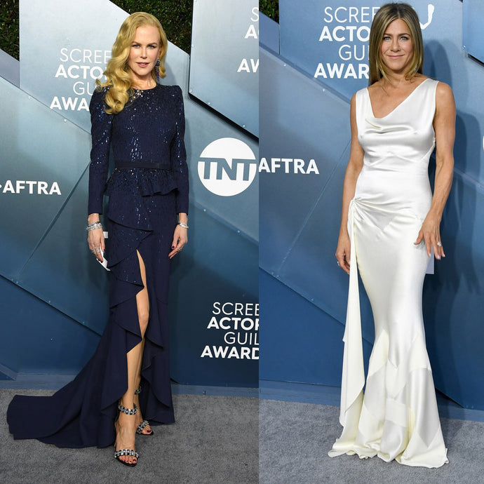 The best red-carpet looks from the 2020 SAG Awards