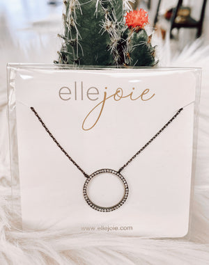 Pave Circles Necklace