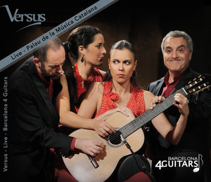 Barcelona 4 Guitars - Versus live (CD)