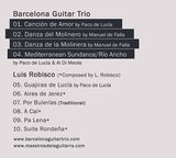 Barcelona Guitar Trio - Collection (3 CDs + bonus)