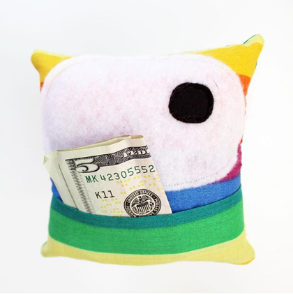 Monster Tooth Pillows