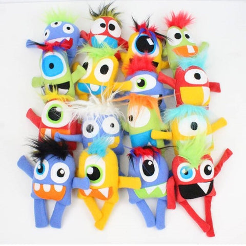 Stuffed Monsters 12 Pack for Party Favors