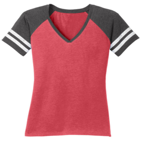 "Custom Ladies Raglan Sleeve ""jersey style"" t shirt- Create your own shirt design-Jersey Shirt-Becky's Boutique-XS-Red/Dark Gray-Beckys-Boutique.com"