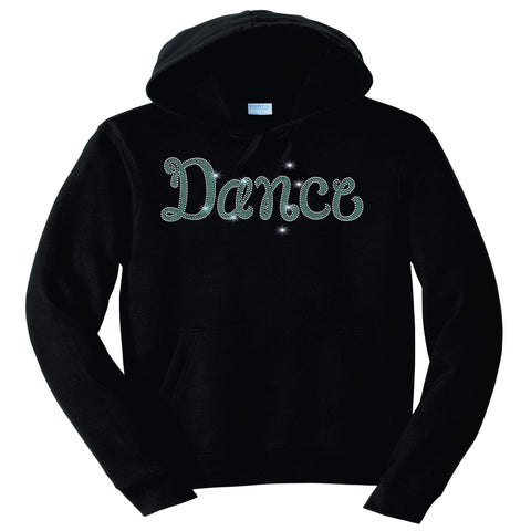 Dance Leg Spangle Bling Dance Gear Team Spirit shirt - Hoodie Sweatshirt Hoodie Sweatshirt Becky`s Boutique Extra Small
