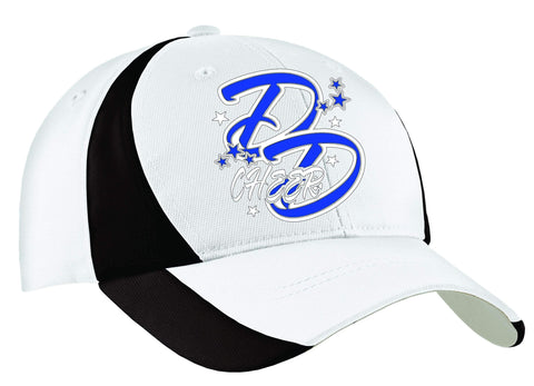 Double Down White Black Hat VIEW ALL DESIGNS Becky's Boutique Adult