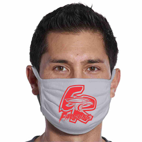 East River High School, ER Falcons Face Mask perfect for teams, schools and events Face Mask Beckys-Boutique.com