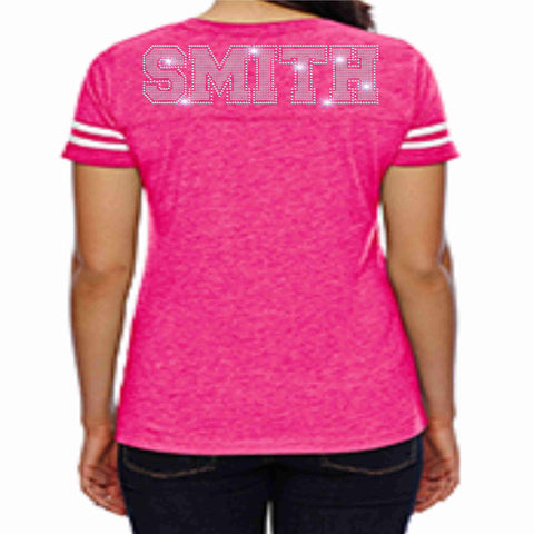 East River High School ERHS Majorettes Pink out Jersey Shirt with name Jersey Beckys-Boutique.com