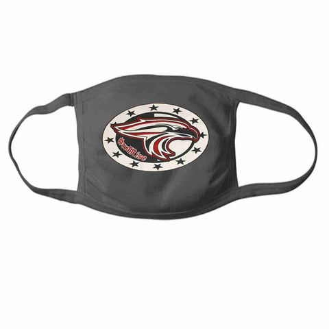 East River High School, Falcons Face Mask perfect for teams, schools and events Face Mask Beckys-Boutique.com 1- at 15/ea Dark Gray