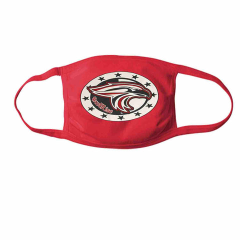 East River High School, Falcons Face Mask perfect for teams, schools and events Face Mask Beckys-Boutique.com 1- at 15/ea Red