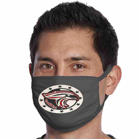 East River High School, Falcons Face Mask perfect for teams, schools and events Face Mask Beckys-Boutique.com