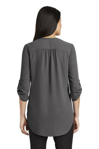 Image of Eastbrook Elementary - Womens Button Sleeve Chiffon Tunic Tunic Beckys-Boutique.com