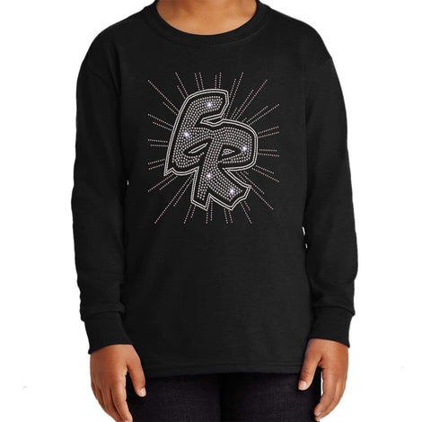 ER Spiral-East River Falcons- High School - Youth Long Sleeve Youth Long Sleeve Becky`s Boutique Extra Small