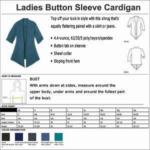 EXP Realty- Ladies Cardigan 3/4 Button Down Beckys-Boutique.com