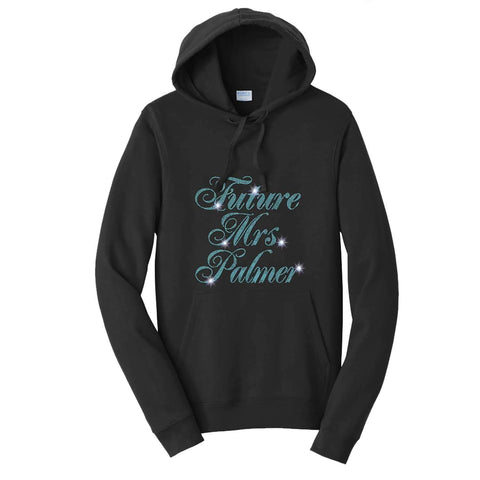Future Mrs. Wedding Bachelorette Party - Hoodie Sweatshirt Hoodie Sweatshirt Becky`s Boutique Extra Small
