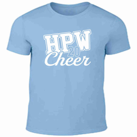 Hagerty Pop Warner 2020 Practice Shirt Unisex Short Sleeve Beckys-Boutique.com