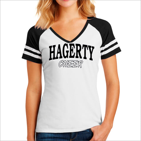 Hagerty Cheer Jersey T-Shirt Beckys-Boutique.com Small Design 2