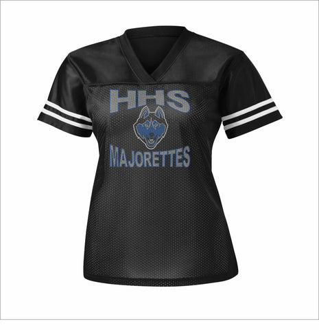 HHS Majorette Jersey Shirt - Available in Black Beckys-Boutique.com Extra-Small