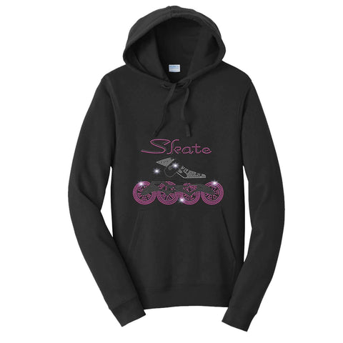 In line Speed Skate-Roller Blade - Hoodie Sweatshirt Hoodie Sweatshirt Becky`s Boutique Extra Small