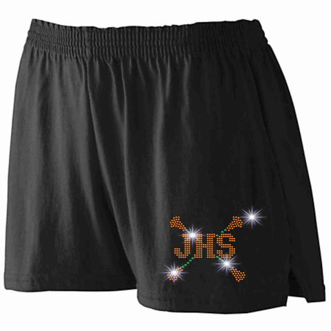 Jones High School JHS Majorette Ladies practice shorts shorts Beckys-Boutique.com Extra-Small