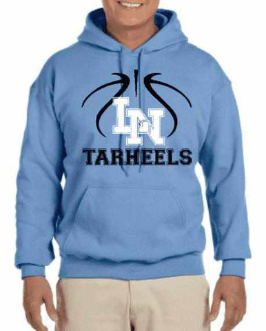 Image of Lake Nona Tar Heels LN Basketball Mens and Youth - available in short, long sleeves and hoodies Schools Becky's Boutique