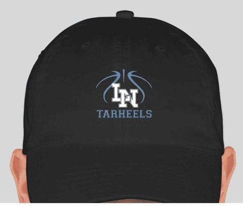 Lake Nona Tarheels Hat-Spangle Rhinestone Bling or Embroidery - Multiple colors available (Adult and youth sizes) Schools Becky's Boutique Embroidery Adult size hat Carolina Blue