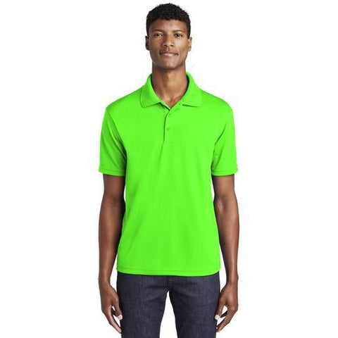 Mens's Micro Mesh Lightweight Embroidered Polo-polo-Becky's Boutique-Mens XS-Beckys-Boutique.com