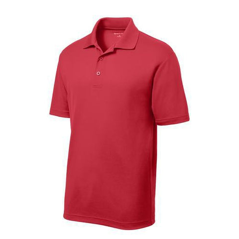 Image of Mens's Micro Mesh Lightweight Embroidered Polo-polo-Becky's Boutique-Mens XS-Beckys-Boutique.com