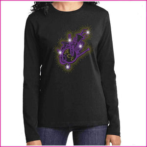OCPS ACE Band Instrument splash Spangle Rhinestone Shirt- youth and ladies-multiple colors available, short or long sleeve Schools Becky's Boutique