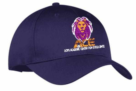 OCPS ACE Embroidered Hat - Multiple colors available (Adult and youth sizes available) Schools Becky's Boutique
