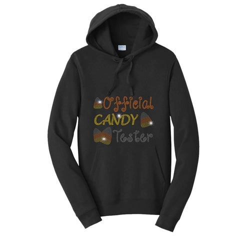Official Candy Tester-Halloween - Hoodie Sweatshirt Hoodie Sweatshirt Becky`s Boutique Extra Small