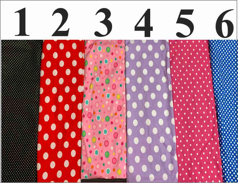 Image of Polka Dot Face Mask, Adult and Child Sizes, For dust, travel, pet grooming, gardening and medical. Washable, Reusable with adjustable nose piece Face Mask Beckys-Boutique.com