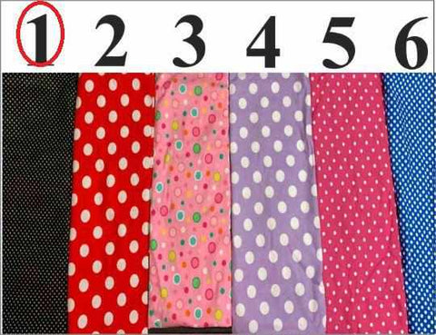 Image of Polka Dot Face Mask, Adult and Child Sizes, For dust, travel, pet grooming, gardening and medical. Washable, Reusable with adjustable nose piece Face Mask Beckys-Boutique.com Adult Black - White Polka Dots