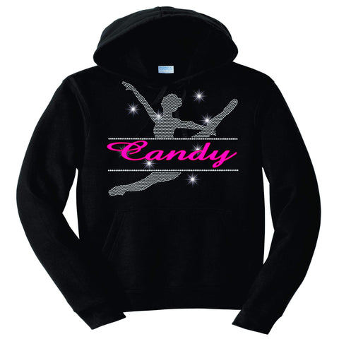 Split Dancer Dance Gear Team Spirit shirt - Hoodie Sweatshirt Hoodie Sweatshirt Becky`s Boutique Extra Small