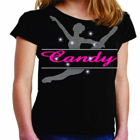 Split Dancer Dance Gear Team Spirit shirt - Youth Short Sleeve Youth Short Sleeve Becky`s Boutique Extra Small