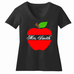 Teacher appreciation Mr. Smith- Short Sleeve V-Neck Shirt Short Sleeve V-Neck Beckys-Boutique.com Extra Small