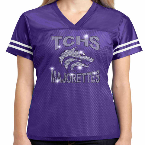 Timber Creek High School TCHS Majorette Jersey Shirt - Available in Purple Beckys-Boutique.com Extra-Small