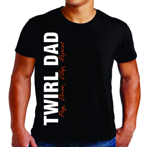 Twirl Dad Mens T-Shirt Beckys-Boutique.com