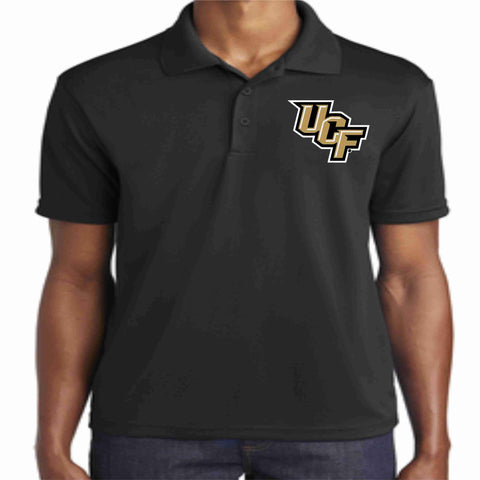 UCF Polo-University of Central Florida- Mens and Womens polo Becky's Boutique S Mens