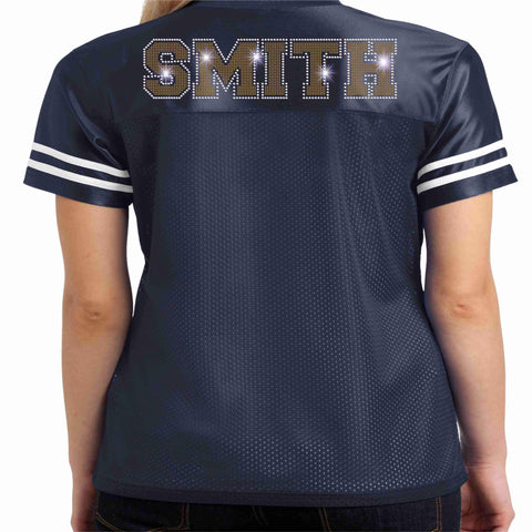 Image of UHS Majorette Jersey Shirt - Available in Navy Blue Beckys-Boutique.com
