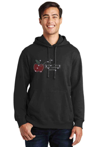 University Carillon Spangle Bling Hoodie Sweatshirt Schools Becky's Boutique S Black