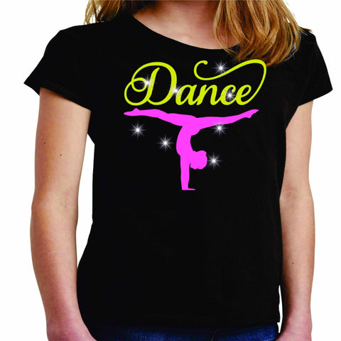 Upside down Dancer Split Dance Gear Team Spirit shirt - Youth Short Sleeve Youth Short Sleeve Becky`s Boutique Extra Small