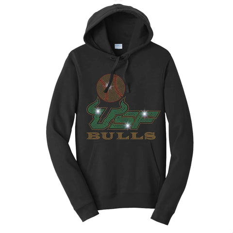 USF Bulls Softball - University of South Florida - Hoodie Sweatshirt Hoodie Sweatshirt Becky`s Boutique Extra Small