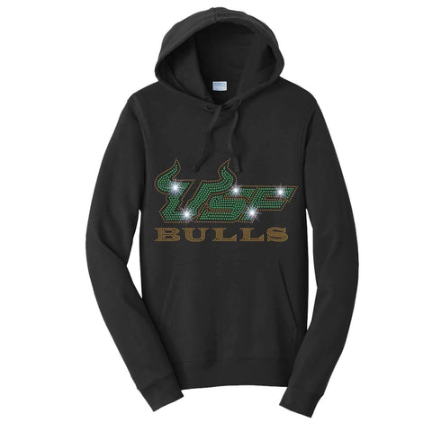 USF Bulls - University of South Florida - Hoodie Sweatshirt Hoodie Sweatshirt Becky`s Boutique Extra Small